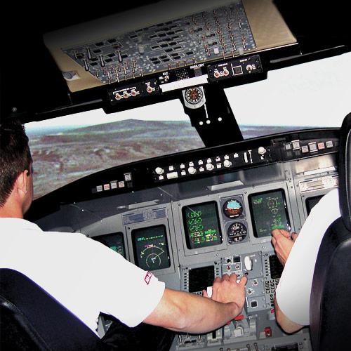 Atp Flight School Crj 200 Regional Jet Ftd