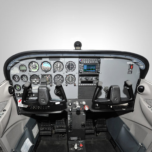 ATP Cessna 172 with Garmin's GNS 430