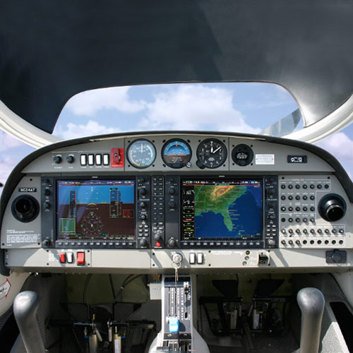 Equipped with Garmin's G1000