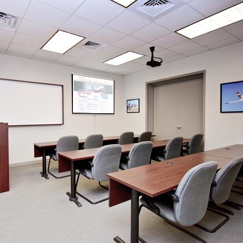 Classroom Design Orientation ~ Jacksonville florida flight training center at crg atp