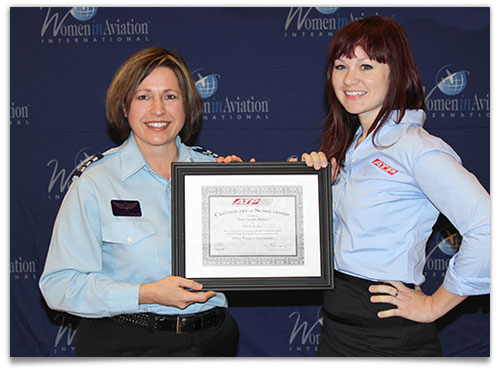ATP Supports Women in Aviation through Scholarship Award