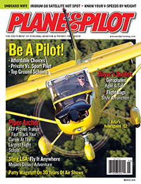 Plane & Pilot March 2015 Article