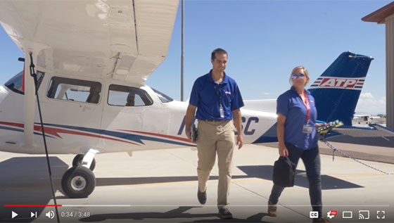 Flying Mag Video Feature Airline Career Pilot Students