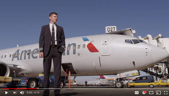 Flying Mag Video Feature Become an Airline Pilot