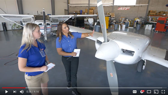 Flying Mag Video Feature ATP Certified Flight Instructor