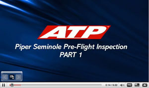 ATP Training Piper Seminole Pre-Flight Checklist Part 1