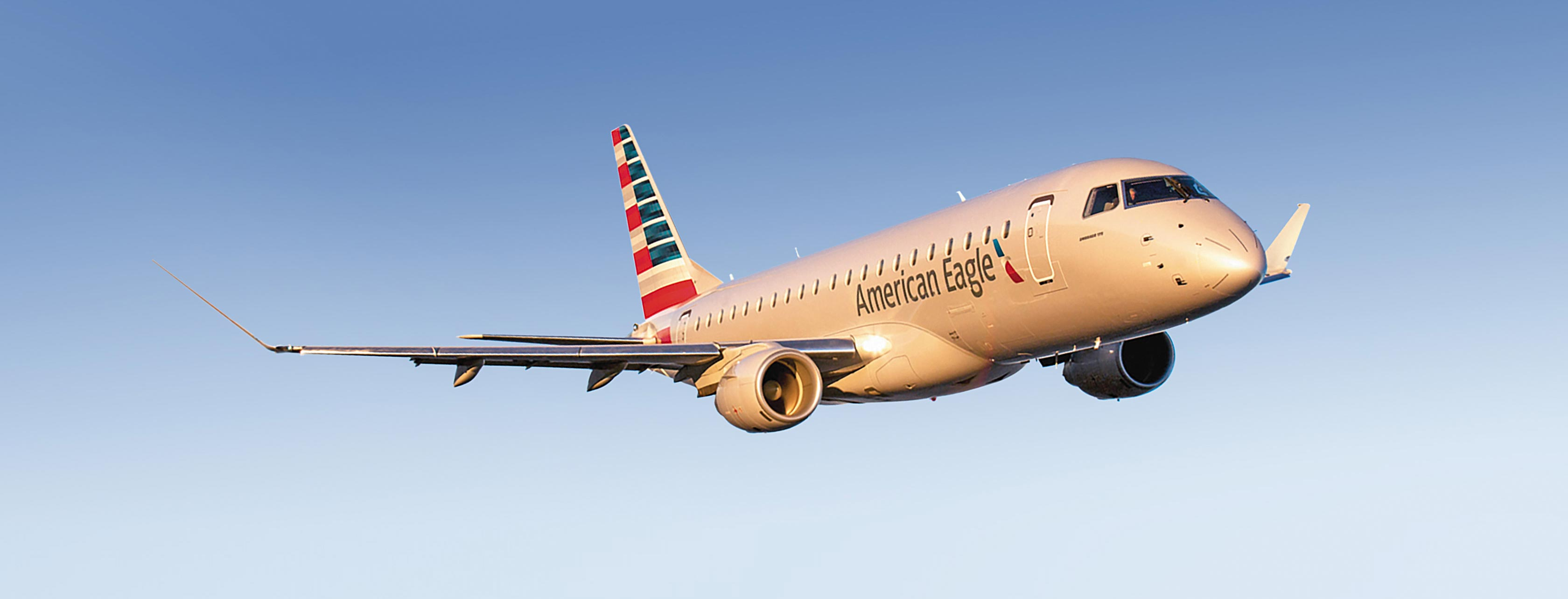 Become a Commercial Pilot - Fly an American Eagle ERJ