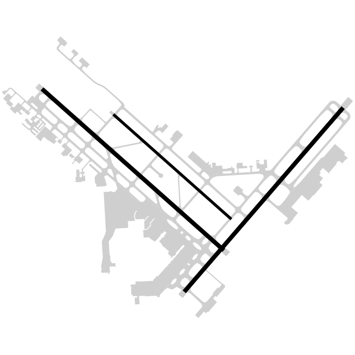 SAT Airport Diagram