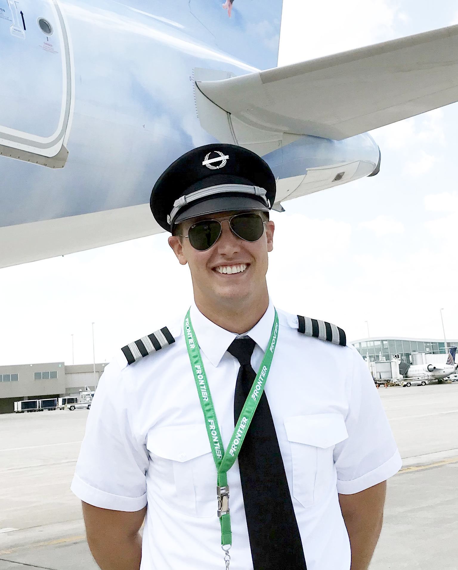 First Officer Walter Copeland III was one of the first participants in the Frontier Direct Program with ATP Flight School